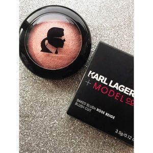 Model CO x Karl Lagerfeld Baked Blush by Model Co #13